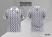phoenix 100% polyester polo shirt #043