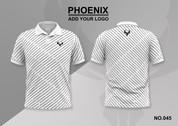 phoenix 100% polyester polo shirt #045