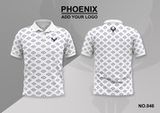 phoenix 100% polyester polo shirt #046