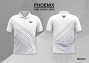 phoenix 100% polyester polo shirt #047