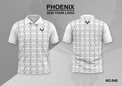 phoenix 100% polyester polo shirt #048