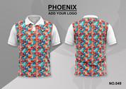phoenix 100% polyester polo shirt #049