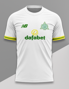 celtic white yellow sleeves #340
