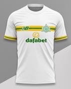 celtic white yellow green #341