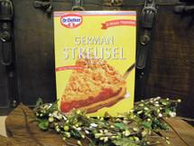 #404 Dr. Oetker Streusel Cake Mix