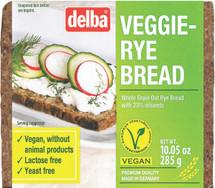 Delba Veggie Rye  10.05oz (285g)