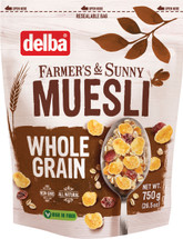Delba Whole Grain Muesli 26.5oz (750g)