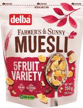 Delba 5 Fruit Variety Muesli 26.5oz (750g)