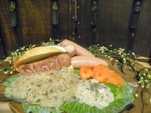 #114 Knockwurst/ Bologna Knockwurst 1 lb