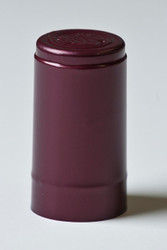 28.8x55mm Burgundy Semi-Matte Capsule