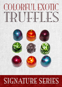 India Truffle Collection 9 Piece Box