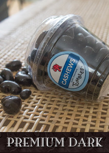 Dark Chocolate Premium Cashews Large Packaged