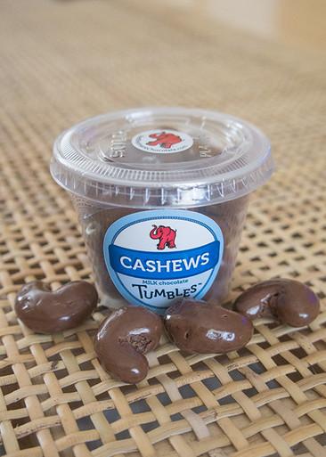 Milk Chocolate Premium Cashews Medium Packaged