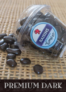 Dark Chocolate Premium Raisins Large Packaged