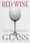 Red Elephant Red Wine Glass