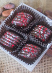 Badger Truffles 4pc open from top