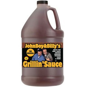 Case of  Gallon Jugs of JBB Original Grillin' Sauce Same great sauce, just in a larger bottle!  Great size for Food Service or the avid griller. (4 - 1 Gallon Jugs)