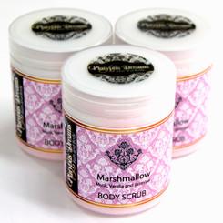 Marshmallow Sugar Scrub