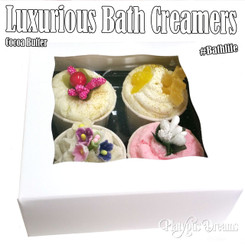 Bath Creamers 4 pack Gift Box Set