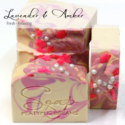 Amber & Lavender Gourmet Soap