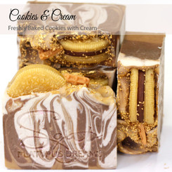 Cookies & Cream Gourmet Soap