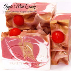 Apple Mint Candy Gourmet Soap