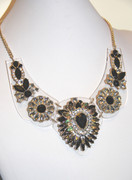 """Jewels of Luxor"" Glam Statement Necklace"