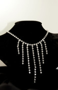 Classic Hollywood Rhinestone Marilyn Necklace