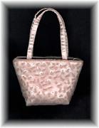 Pale Pink Small Beaded Purse / Handbag