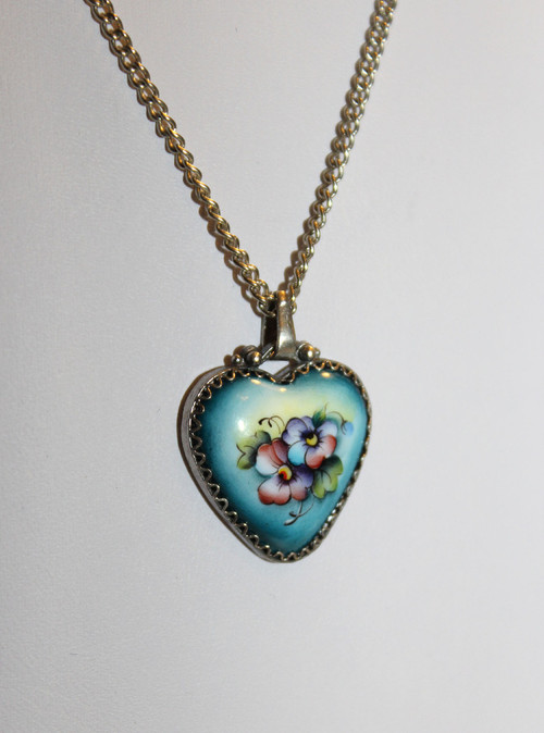 Russian Fiift Heart Necklace