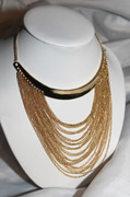 Golden Cleopatra Necklace
