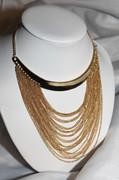 Golden Cleopatra Necklace