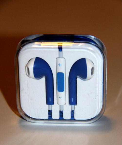 Dark Blue Headphones