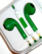 Green Headphones