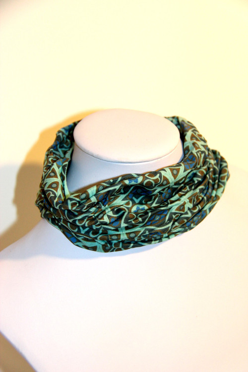 Kaleidoscope Print Yoga Head Wrap
