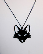 Black Wold Pendant Necklace