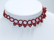 Red Crown Choker