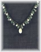 Bohemian Green Necklace