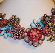 """ Fuji Mountain "" Exquisite Statement Necklace"