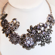 """"""" Frosted Beauty of Royal Denmark """" Necklace"""
