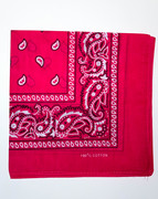 Pink Cotton Bandana Scarf