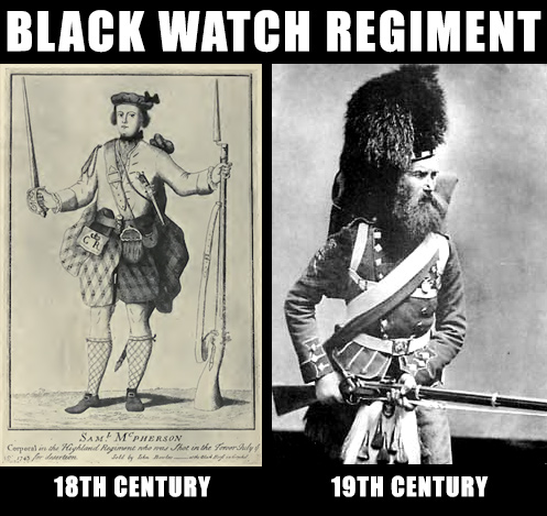 Black watch regiment