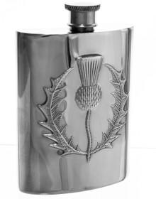"Thistle Flask -  Polished - 4.5"""