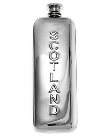 """Scotland Flask - Polished 5.5"""""""