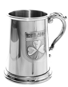 Irish Shamrock Tankard