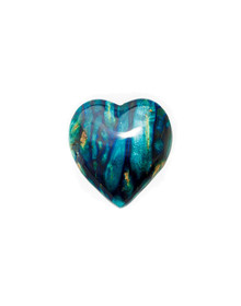 Heathergem Heart Brooch