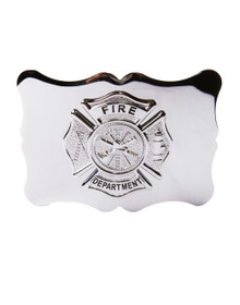 Fire Department Kilt Belt Buckle
