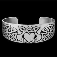 Knotwork Claddagh Bracelet - MW14006