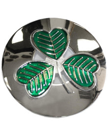 Shamrock Plaid Brooch