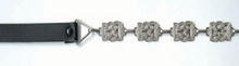 Square Fancy Sporran Chrome Chain image
